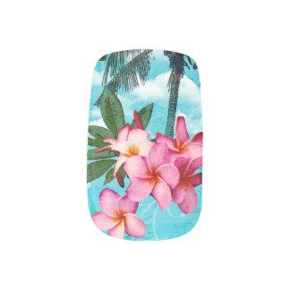 Tropical Nails Minx Nail Art
