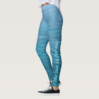 Tropical Ocean Leggings
