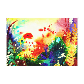 Tropical  One. Canvas Print