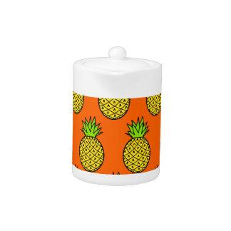 Tropical Orange Pineapples