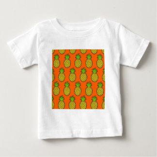 Tropical Orange Pineapples Baby T-Shirt