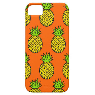 Tropical Orange Pineapples Case For The iPhone 5
