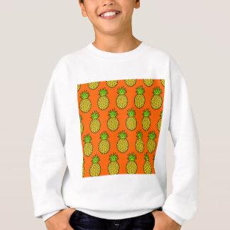 Tropical Orange Pineapples Sweatshirt