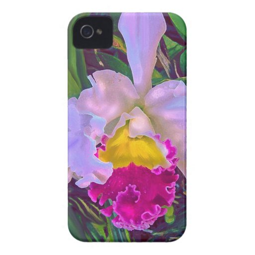 tropical orchid blackberry bold blackberry bold case