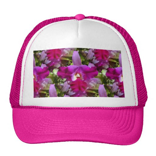 Tropical Orchid Elegance Hats