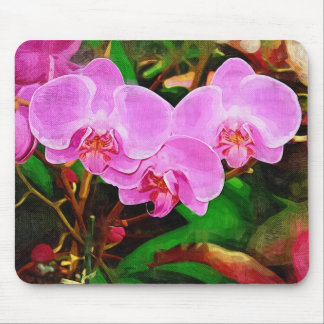 Tropical orchid - Walk in the Garden Mouse Mats