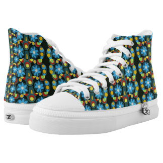 Tropical Outburst Printed Shoes