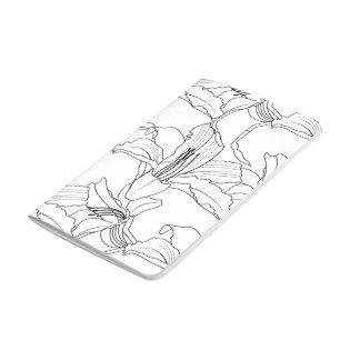 Tropical Outlines Pocket Journal