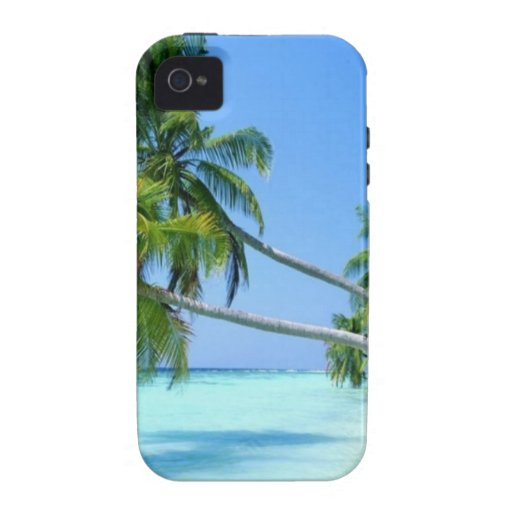 Tropical Palm Beach! iPhone 4 Covers