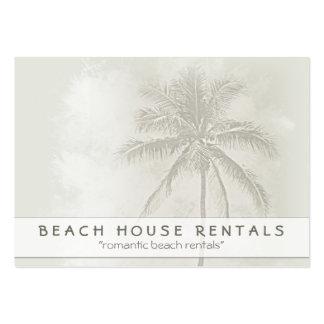 Tropical Palm Beach Rentals Business Card