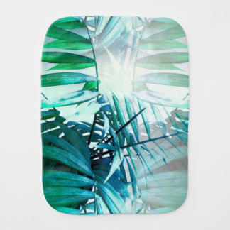 Tropical Palm Burp Cloth