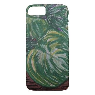 Tropical Palm IPhone Case Watercolor design