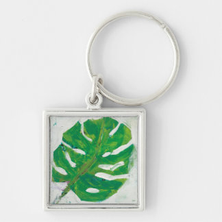 Tropical | Palm Leaf Key Ring