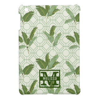 Tropical Palm Leaves | Add Your Name Case For The iPad Mini