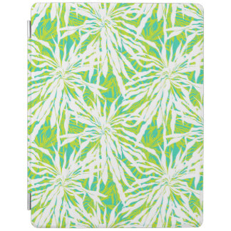 Tropical Palm Leaves Pattern iPad Cover