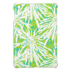 Tropical Palm Leaves Pattern iPad Mini Cover