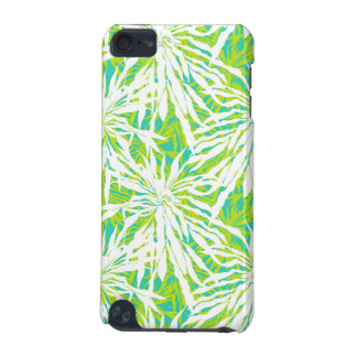 Tropical Palm Leaves Pattern iPod Touch (5th Generation) Case