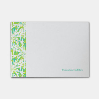 Tropical Palm Leaves Pattern Post-it® Notes