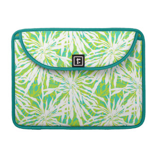 Tropical Palm Leaves Pattern Sleeve For MacBook Pro