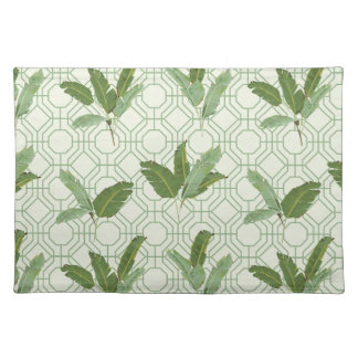 Tropical Palm Leaves Placemat