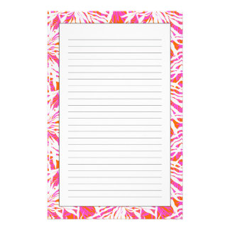 Tropical Palm Leaves Stationery