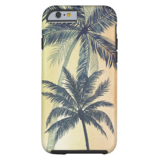 Tropical Palm Leaves Tough iPhone 6 Case