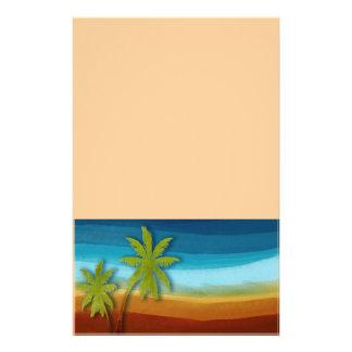 Tropical Palm Tree 14 Cm X 21.5 Cm Flyer