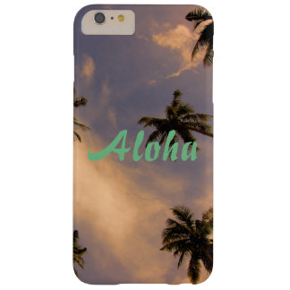 Tropical palm tree beach paradise aloha photo barely there iPhone 6 plus case
