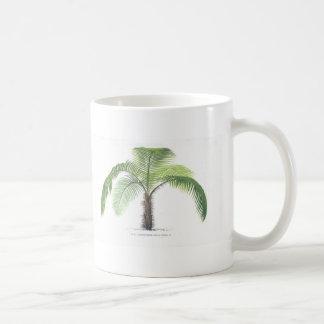 tropical palm tree collection - drawing VI Coffee Mug