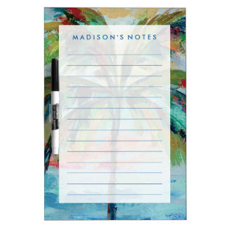 Tropical | Palm Tree Dry Erase Board