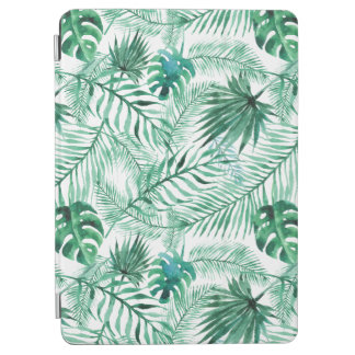 Tropical Palm Tree Leaves Pattern iPad Pro Cover