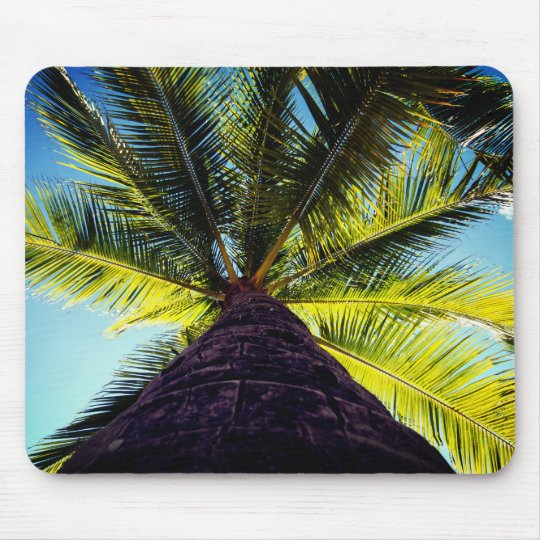 Tropical Palm Tree Mouse Pad