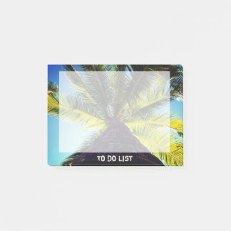 Tropical Palm Tree Post-it Notes