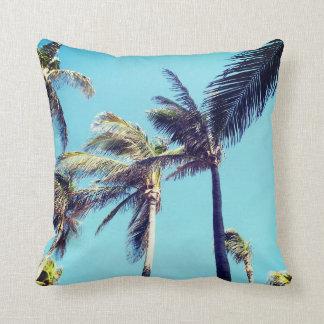 Tropical Palm Trees Cushion