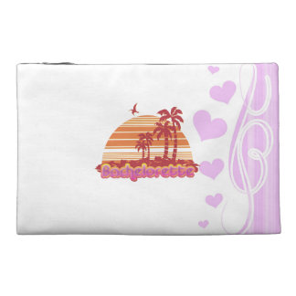 tropical palm trees hawaii bachelorette party travel accessory bag
