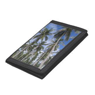 Tropical Palm Trees Trifold Wallets