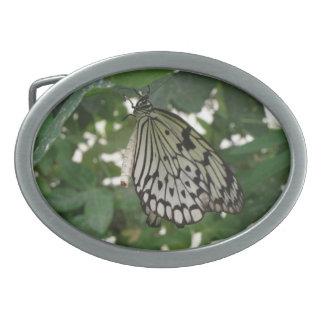 Tropical Paper Kite Butterfly Belt Buckle