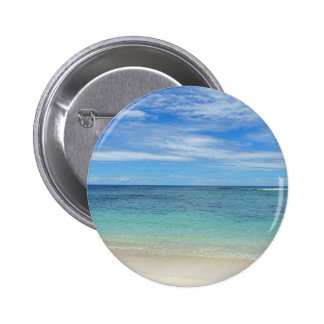 tropical paradise 2 inch round button