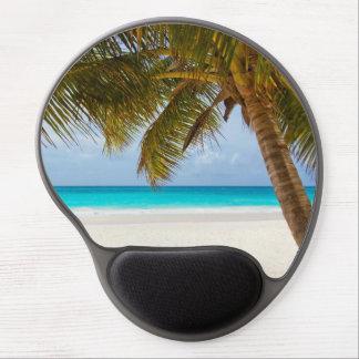 Tropical Paradise Beach Gel Mouse Pad