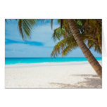 Tropical Paradise Beach Greeting Cards