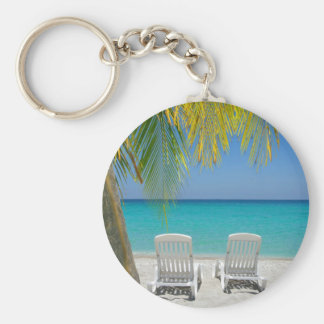 Tropical paradise beach in the Caribbean Key Ring