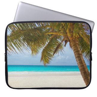 Tropical Paradise Beach Laptop Sleeve