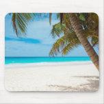 Tropical Paradise Beach Mouse Pad