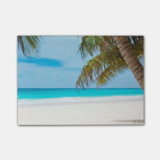 Tropical Paradise Beach Post-it Notes