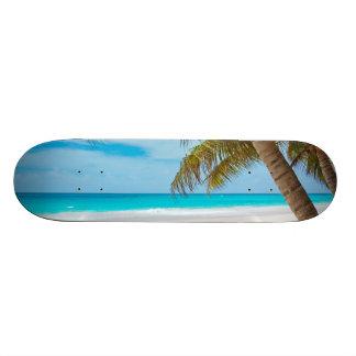 Tropical Paradise Beach Custom Skateboard
