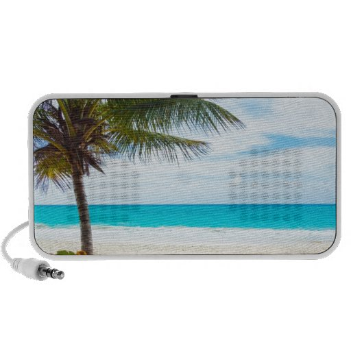 Tropical Paradise Beach Portable Speakers