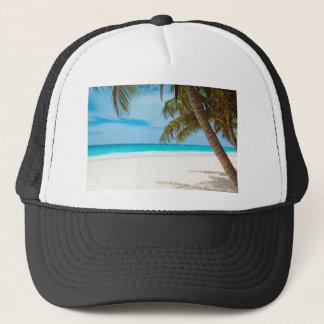 Tropical Paradise Beach Trucker Hat
