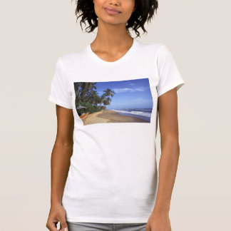 Tropical Paradise Beach Women's Singlet T-Shirt