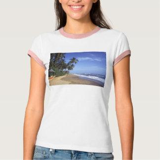 Tropical Paradise Beach Women's T-shirts