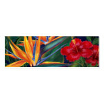 Tropical Paradise Bookmark Pack Of Skinny Business Cards